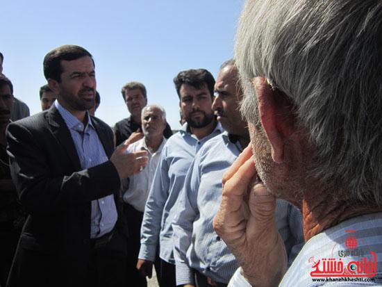 بازدید فرماندار رفسنجان از دهستان رضوان65