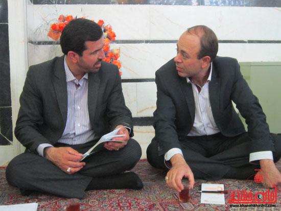 بازدید فرماندار رفسنجان از دهستان رضوان7