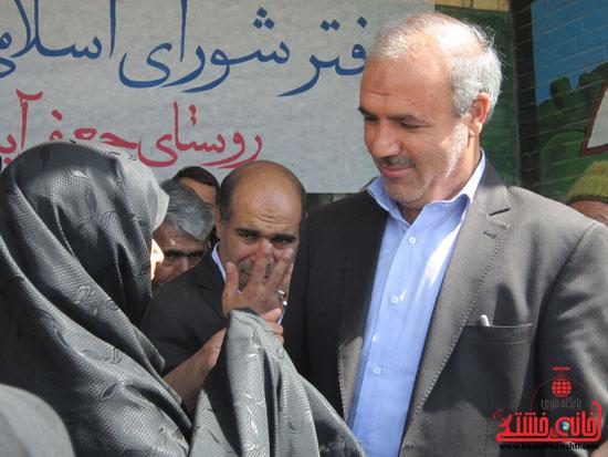 بازدید فرماندار رفسنجان از دهستان رضوان70