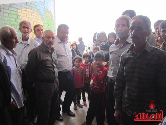 بازدید فرماندار رفسنجان از دهستان رضوان71