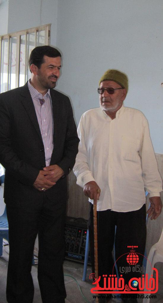 بازدید فرماندار رفسنجان از دهستان رضوان72
