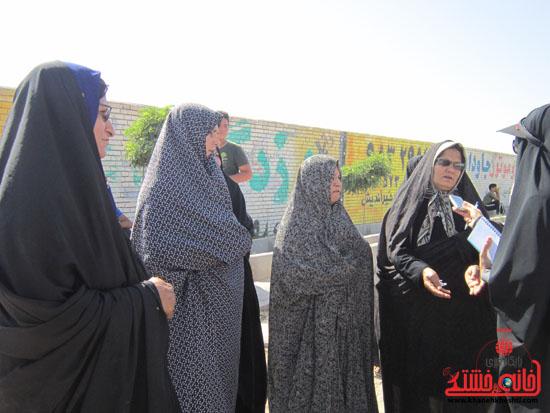 بازدید فرماندار رفسنجان از دهستان رضوان76