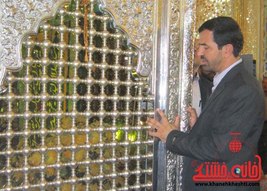 بازدید فرماندار رفسنجان از دهستان رضوان8