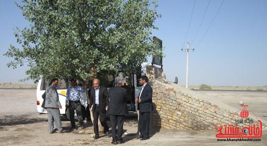 بازدید فرماندار رفسنجان از دهستان رضوان85