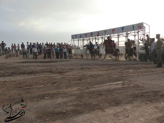 برگزاری مسابقات کورس سوارکاری بهاره ۹۳ در رفسنجان (3)