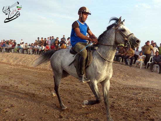برگزاری مسابقات کورس سوارکاری بهاره ۹۳ در رفسنجا