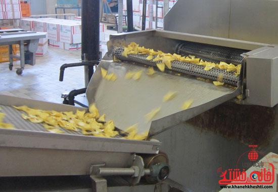 برگه ذرت، اولین و سالم ترین میان وعده تولید شده در رفسنجان
