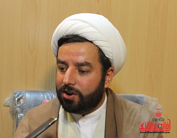 ۹۰ درصد مردم شهر رفسنجان ریزه خور سفره آقا امام رضا (ع) هستند