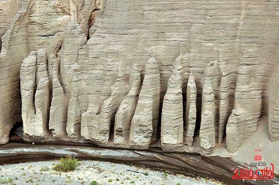 دره راگه  یکی از منحصربفرد ترین دره های کشور در رفسنجان-خانه خشتی