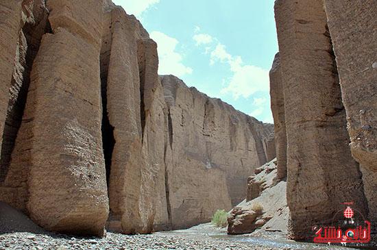 دره راگه، سومین ژئوپارک خاورمیانه در رفسنجان خودنمایی می کند