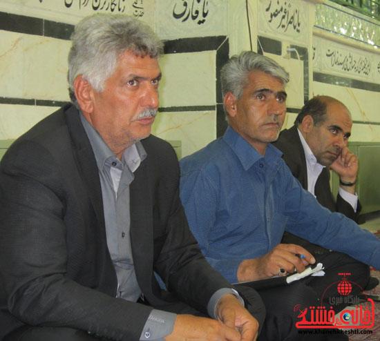 دهستان رضوان بازدید فرماندار رفسنجان