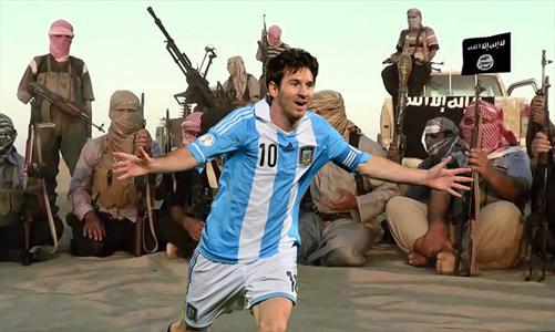 لیونل مسی، امیر داعش در آمریکایجنوبی شد!