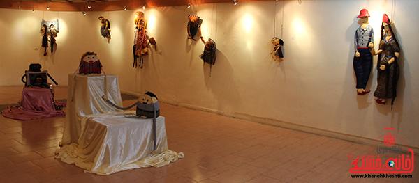 نمایشگاه عروسک ها در رفسنجان