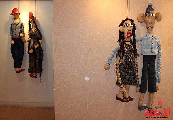 نمایشگاه عروسک ها در رفسنجان12