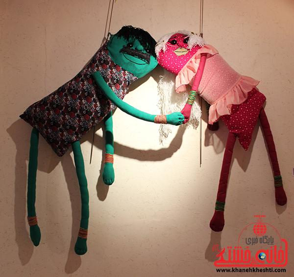 نمایشگاه عروسک ها در رفسنجان4