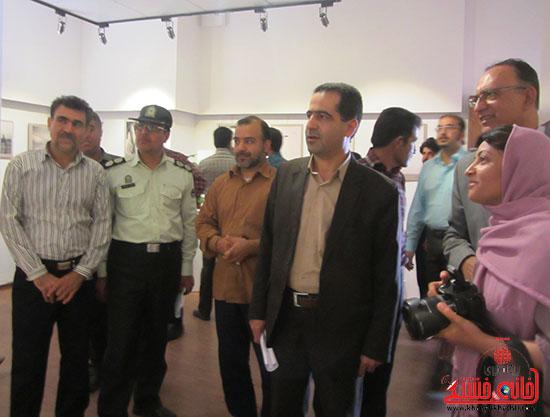 نمایشگاه عکس،رفسنجان،خانه خشتی