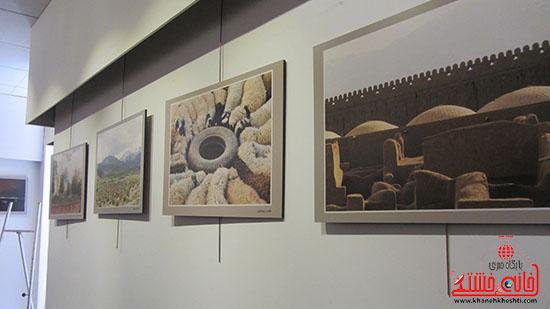آثار عکاسان رفسنجانی به نمایش گذاشته شد + عکس