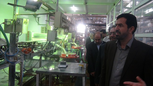 ۲۰ درصد تولیدات کاشی و سرامیک رفسنجان به کشورهای خارج صادر می شود