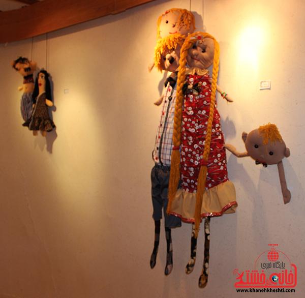 14نمایشگاه عروسک ها در رفسنجان
