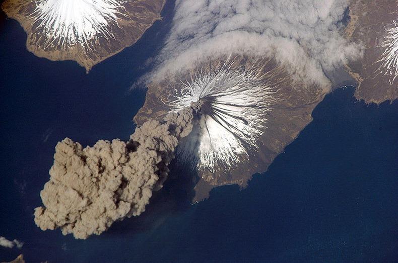 فوران آتشفشان ها از نگاهی دیگر + تصاویر