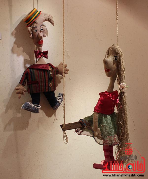 4نمایشگاه عروسک ها در رفسنجان
