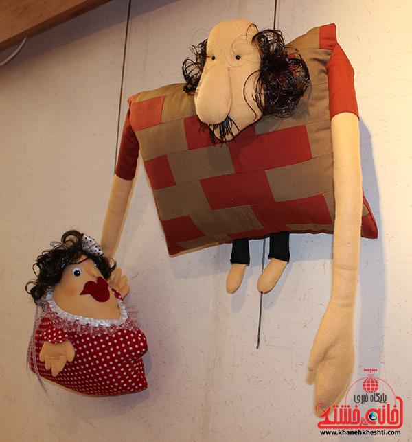 7نمایشگاه عروسک ها در رفسنجان