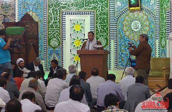 جشن آغاز ولایت رهبری در رفسنجان برگزار شد + عکس