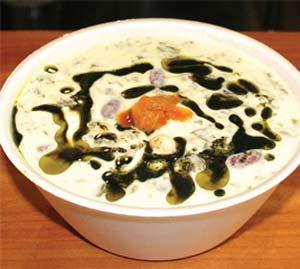 بفرمائید کشک و پسته، سنتی ترین غذای رفسنجان