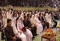 اعطای کمک یک میلیارد و ۹۵۰ میلیون ریالی به امر ازدواج جوانان در رفسنجان