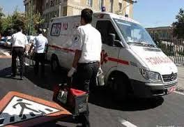 مرگ دوچرخه سوار در اثر برخورد با کامیون در کشکوئیه
