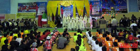 آیین طرح تکریم ماه رمضان با ورزش در رفسنجان (3)