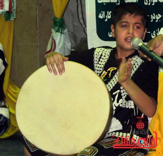 آیین طرح تکریم ماه رمضان با ورزش در رفسنجان (4)
