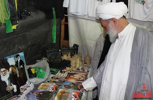 بازدید مسئولین از نمایشگاه بزرگ قرآن در رفسنجان3