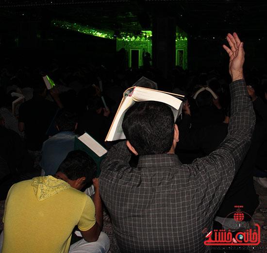 برگزاری سومین شب قدر در مساجد رفسنجان  (2)