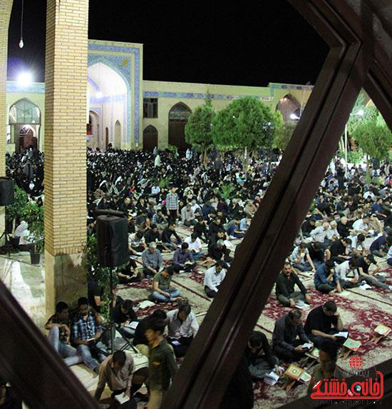 برگزاری سومین شب قدر در مساجد رفسنجان) (2)