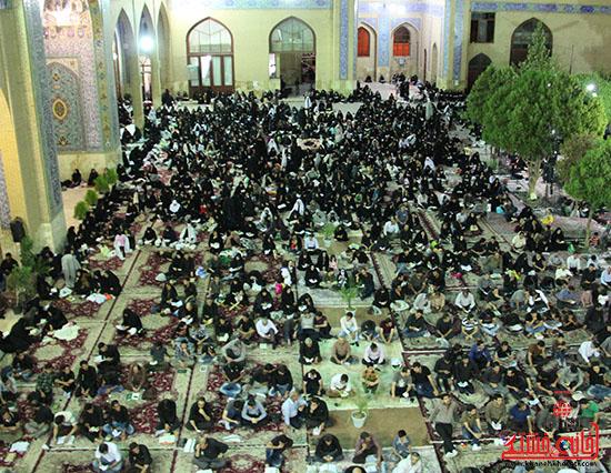 برگزاری سومین شب قدر در مساجد رفسنجان)