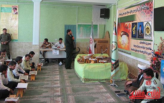 برگزاری مسابقات قرآن کریم نیروهای مسلح در رفسنجان