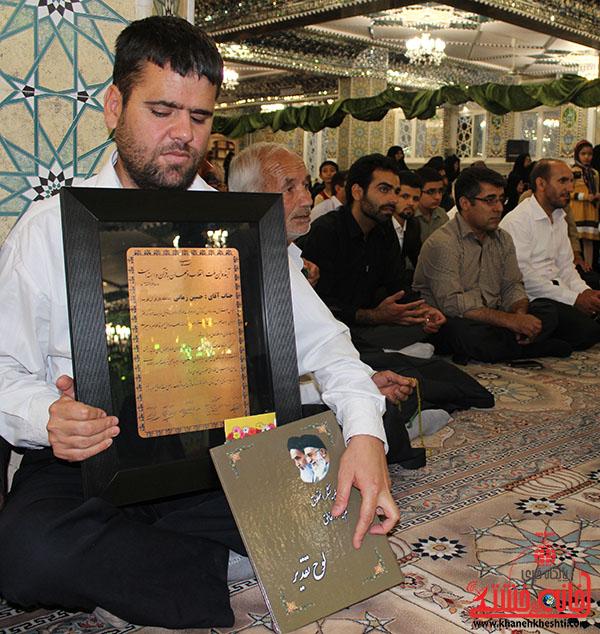 تجلیل از حافظان کل قرآن رفسنجان7