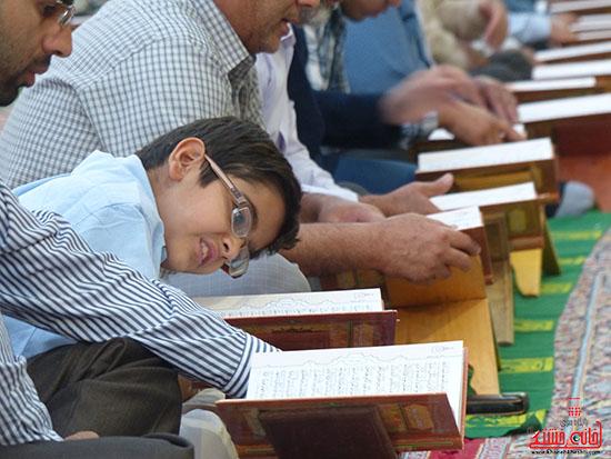 تصاویرجمع خوانی قرآن در رفسنجان-خانه خشتی (10)