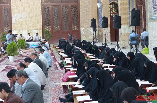 تصاویرجمع خوانی قرآن در رفسنجان-خانه خشتی (11)