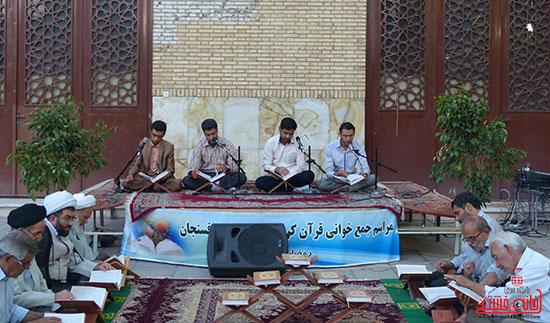 تصاویرجمع خوانی قرآن در رفسنجان-خانه خشتی (12)