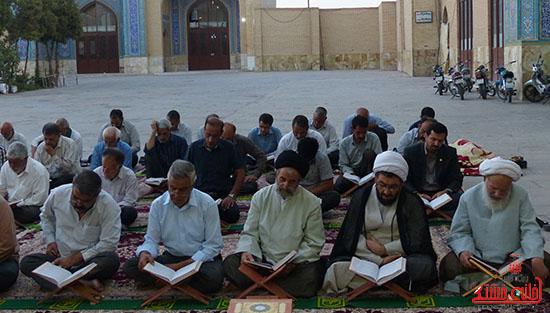 تصاویرجمع خوانی قرآن در رفسنجان-خانه خشتی (13)