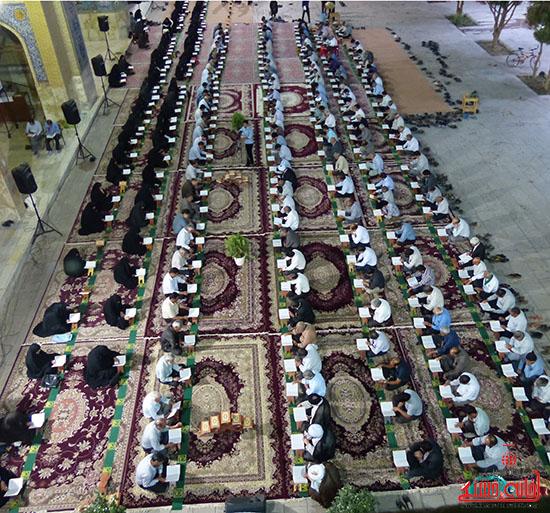 تصاویرجمع خوانی قرآن در رفسنجان-خانه خشتی (2)
