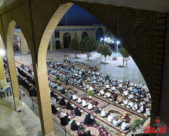 تصاویرجمع خوانی قرآن در رفسنجان-خانه خشتی (4)