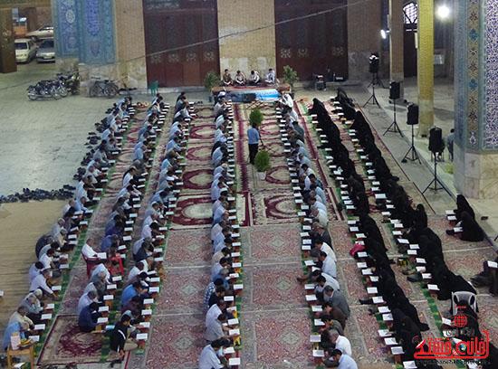 تصاویرجمع خوانی قرآن در رفسنجان-خانه خشتی (7)
