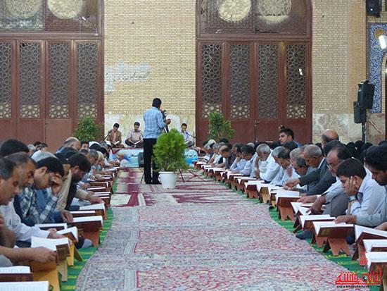 تصاویرجمع خوانی قرآن در رفسنجان-خانه خشتی (9)