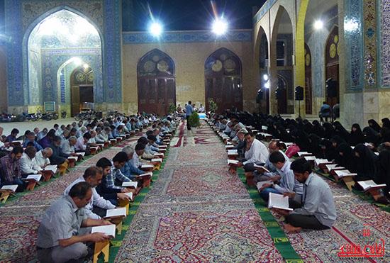 تصاویرجمع خوانی قرآن در رفسنجان-خانه خشتی