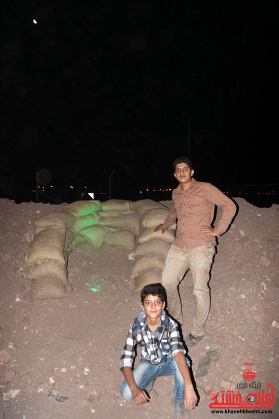حاشیه مراسم احیاء شب بیست و یکم ماه مبارک رمضان در رفسنجان (14)