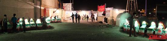 حاشیه مراسم احیاء شب بیست و یکم ماه مبارک رمضان در رفسنجان (18)