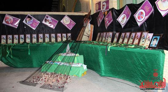 حاشیه مراسم احیاء شب بیست و یکم ماه مبارک رمضان در رفسنجان (3)